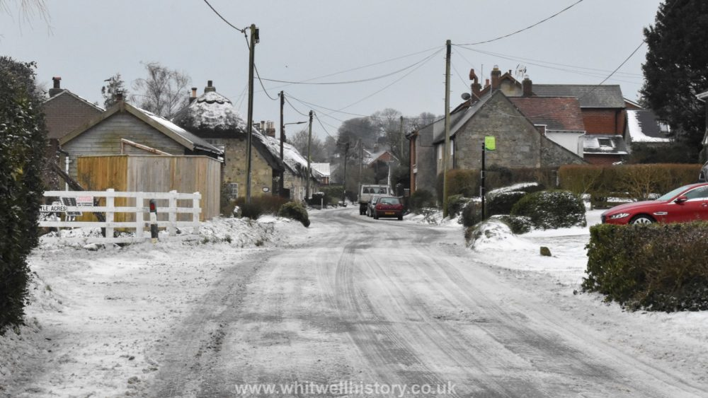Whitwell Snow March 2018